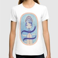 princess T-shirts featuring Princess by Claire Cousins