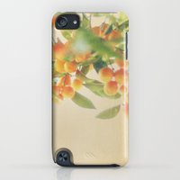 iPod Touch Cases featuring Aren't You A Little Orange by Tina Crespo