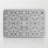 Abstract Mirror Black On… Laptop & iPad Skin