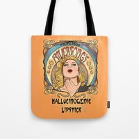 Professor River Song's Hallucinogenic Lipstick 3.0 Tote Bag