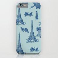 Vintage Paris iPhone 6 Slim Case