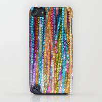 iPod Touch Cases featuring Rainbow Mosaic by Joke Vermeer