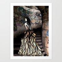 Escape Illustration Seri… Art Print