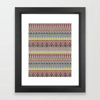 WHISKY AZTEC  Framed Art Print