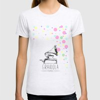 Graviola Filmes Womens Fitted Tee Ash Grey SMALL