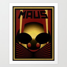 OBEY THE MAU5 Art Print