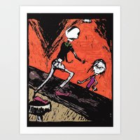 The Ole Bar Art Print
