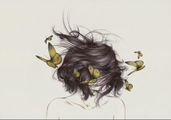 Hair III Canvas Print