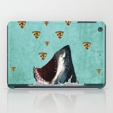 Pizza Shark Print iPad Case