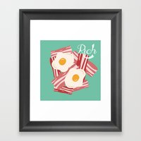 Rich!! Framed Art Print