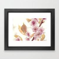 Efflorescence Framed Art Print