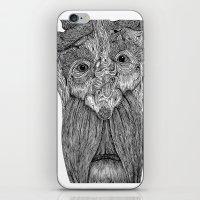 Tree Person iPhone & iPod Skin