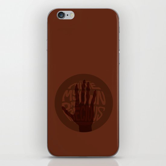 Mine, My Own, My Precious -Lord of the Rings Trilogy iPhone & iPod Skin