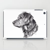 iPad Case featuring Retriever by Beth Thompson