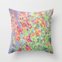Garden Song Throw Pillow