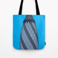 London Town - The Gherkin Tote Bag