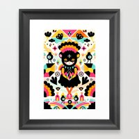 Naiki Framed Art Print