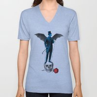 the complex of righter of wrongs Unisex V-Neck