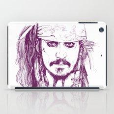 Captain Jack - Pirates of the Caribbean iPad Case