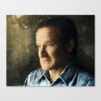 Tribute Robin Williams Canvas Print
