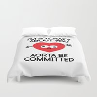 Dement To Be Duvet Cover