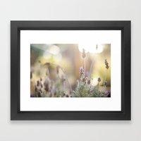 Little Lavender Flower  Framed Art Print
