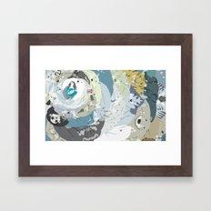 Hug me please Framed Art Print