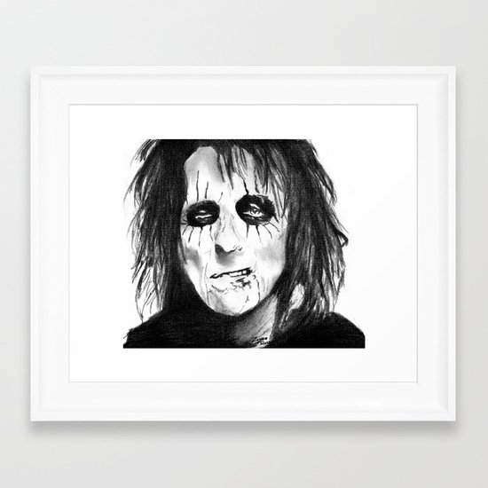 Along Came A Spider Framed Art Print