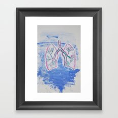 lungs Framed Art Print
