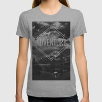 Adventure Womens Fitted Tee Athletic Grey SMALL