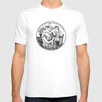 A Perfect Healt Corset  Mens Fitted Tee White SMALL