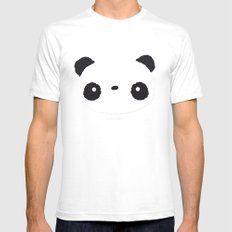 Panda in love  Mens Fitted Tee White SMALL