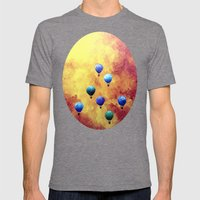 Lúppulagið Mens Fitted Tee Tri-Grey SMALL