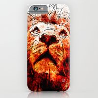 iPhone & iPod Case featuring Lion by Ed Pires