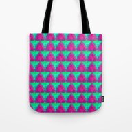 Modern Holiday Tote Bag