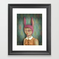 Bruised Egg Framed Art Print