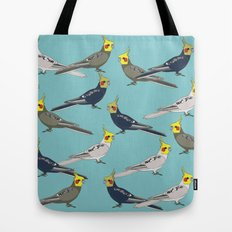 Cockatiels Tote Bag