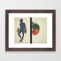 Beating Hearts Flattened… Framed Art Print