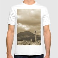 T-shirt featuring Mount Vesuvius Looking D… by Phil Smyth