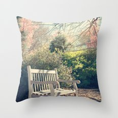 Waiting for you! Throw Pillow