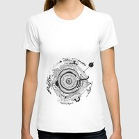 Little planet Womens Fitted Tee White SMALL