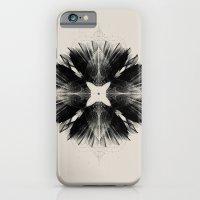 Black Flower iPhone 6 Slim Case