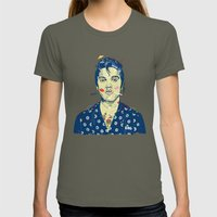 WTF? ELVIS MORNING PARTY Womens Fitted Tee Lieutenant SMALL