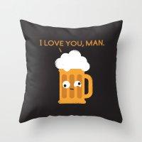 Brewmance Throw Pillow