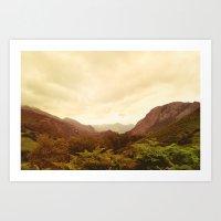 Mountains (02) Art Print