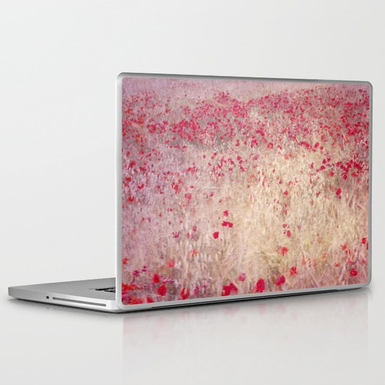 Fields of poppies Laptop & iPad Skin