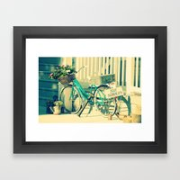 Just Married! Framed Art Print