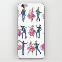 Sock Hop iPhone & iPod Skin