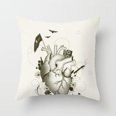 I Love Design Throw Pillow