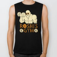 Roshi's Gym Biker Tank